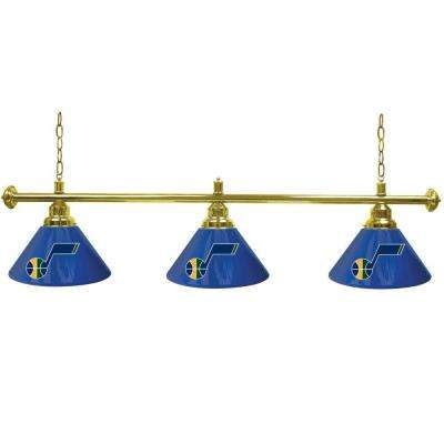 NBA 3-Light Utah Jazz Billiard Lamp