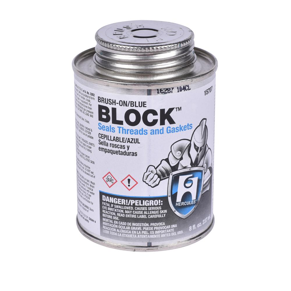 8 Oz Block Pipe Joint And Gasket Sealing Compound 157072 The Home Depot