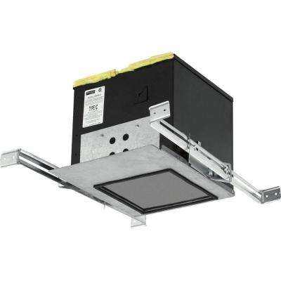 2 in. LED Silver Recessed IC Box for Downlight Series