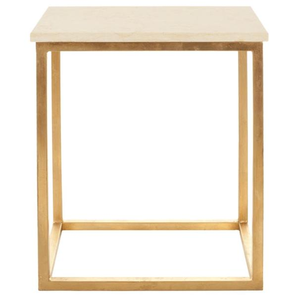 Safavieh Tad Gold/Ivory End Table