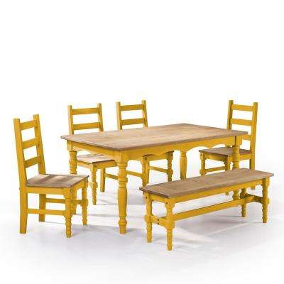 Bench Seating - Yellow - Dining Room Sets - Kitchen & Dining Room ...