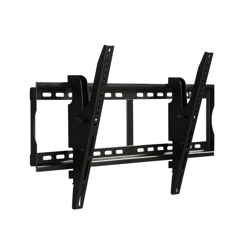 atlantic large titling mount for 37 in to 70 in flat screen tv black 63607069 the home depot. Black Bedroom Furniture Sets. Home Design Ideas