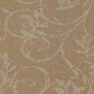 Carpet Sample - Cheriton - Color Maple Pattern 8 in. x 8 in.
