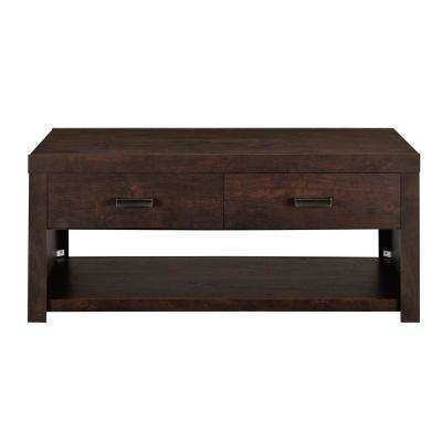 Hanover Dark Walnut Coffee Table