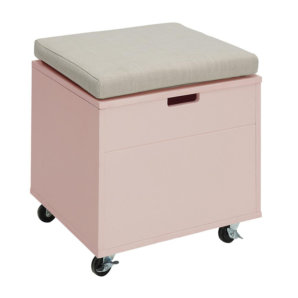 Sa New Pink Small Office File Bench