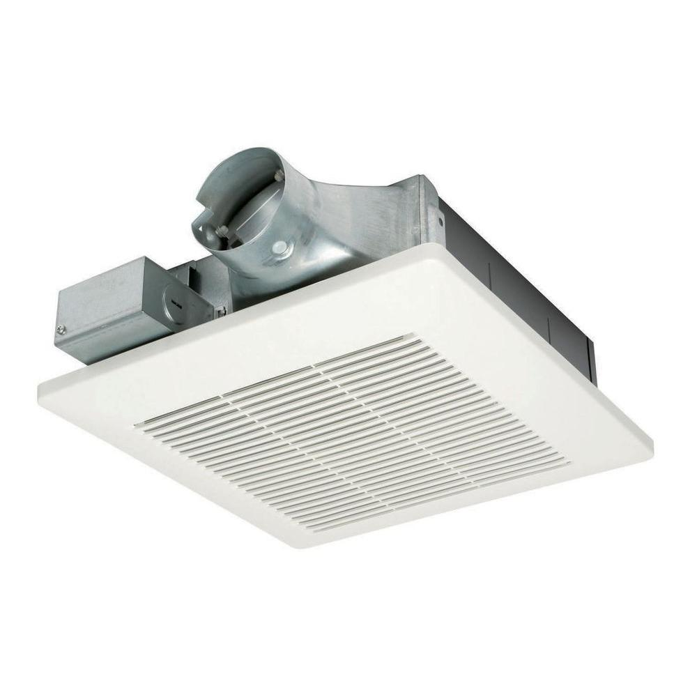 Panasonic WhisperValue 50 CFM Ceiling or Wall Super Low Profile Exhaust Bath Fan ENERGY STAR*