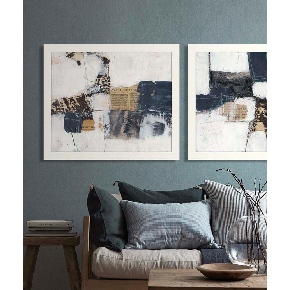 "27 in. x 23 in. ""Art House I"" Framed Giclee Print Wall Art"