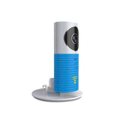 Mini Wi-Fi Wireless Standard Surveillance Camera with Night Vision and Motion Sensor in Blue