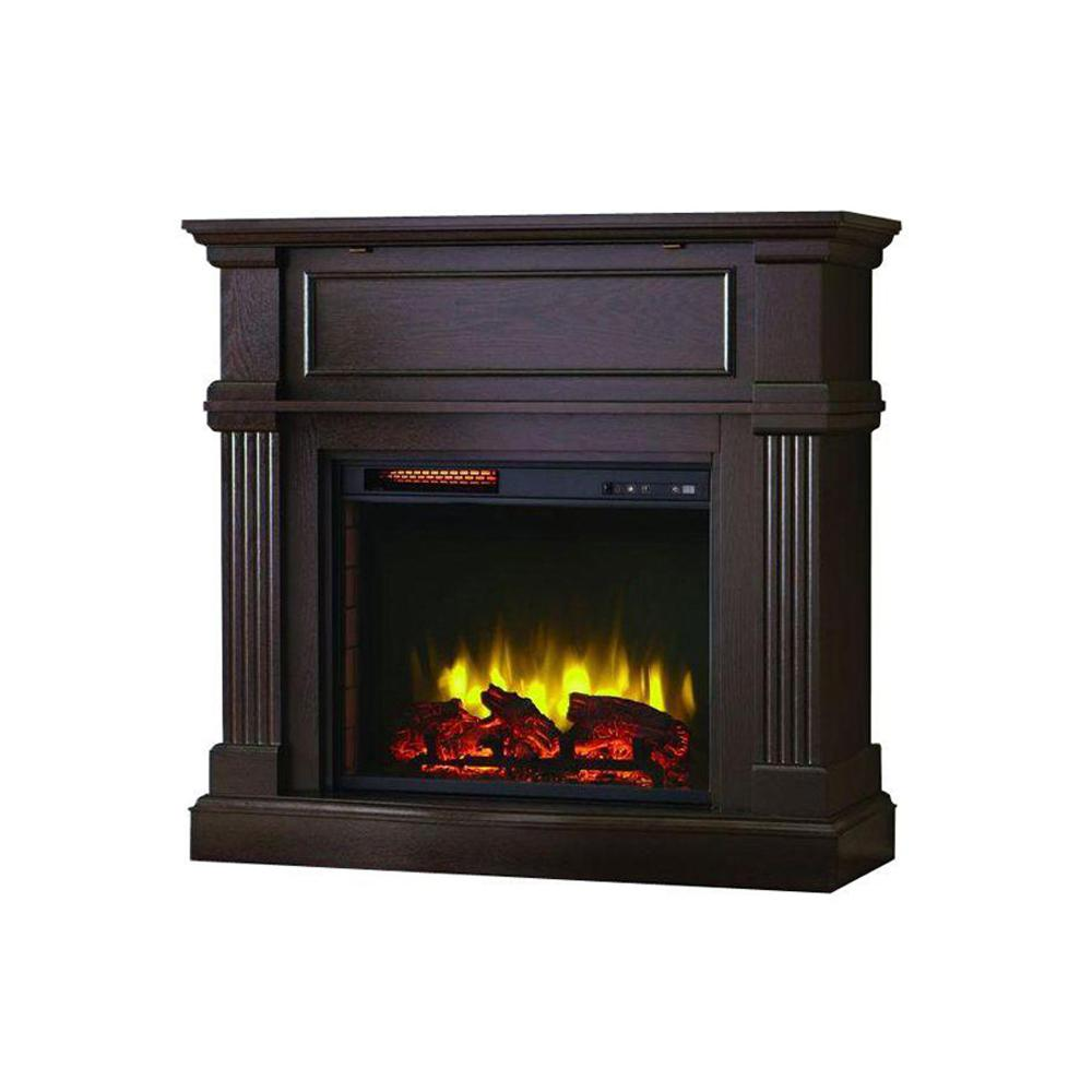 Home decorators collection vanderford 40 in convertible for Home decorators fireplace