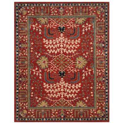 Antiquity Red Multi 8 Ft X 10 Area Rug