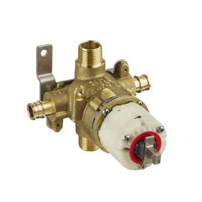 1/2 in. Pressure Balance Rough Valve with PEX Inlets and Universal Outlets Cold Expansion