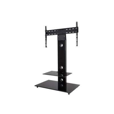 TV Floor Stand with Mount for 32 in. - 55 in. Screens - Black