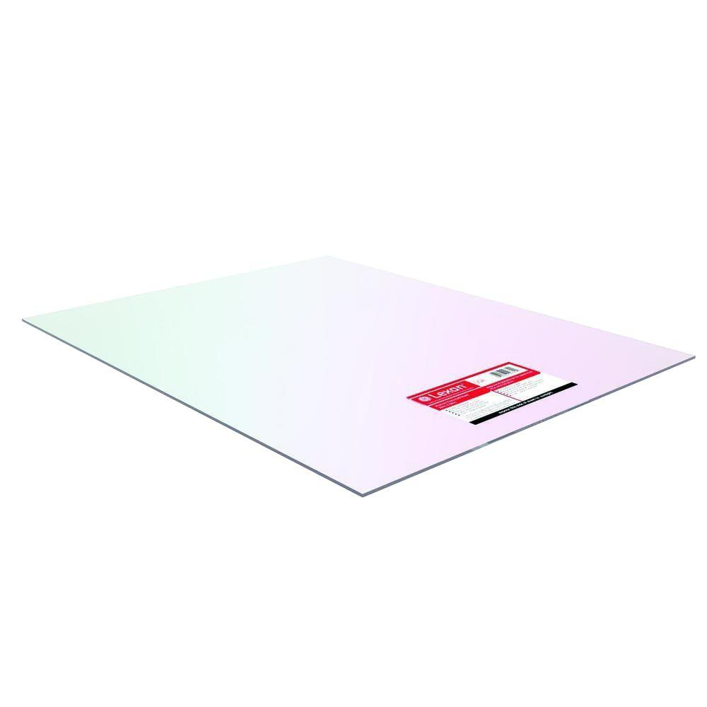 8 in. x 10 in. Polycarbonate Sheet