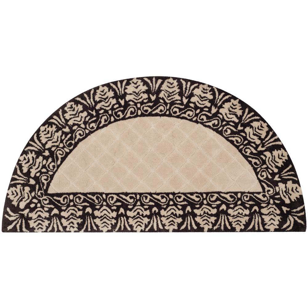 Safavieh Total Performance Ivory Chocolate 2 Ft X 4 Ft