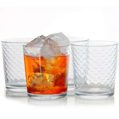 Horizon 13 oz. Double Old Fashion Glass (4-Pack)