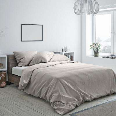 Heritage Cotton Duvet Natural Twin