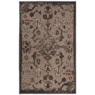 Overdye II Gray 4 ft. x 6 ft. Area Rug