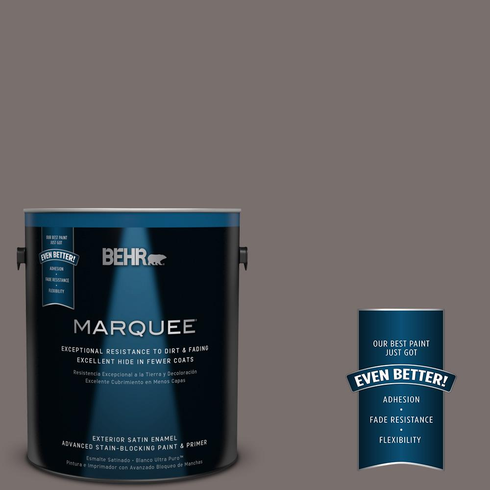 BEHR MARQUEE 1-gal. #790B-5 Simple Silhouette Satin Enamel Exterior Paint