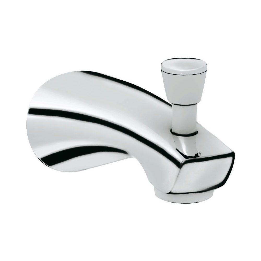 tub diverter faucets shower bathroom b spout fit standard polished slip on inch american chrome