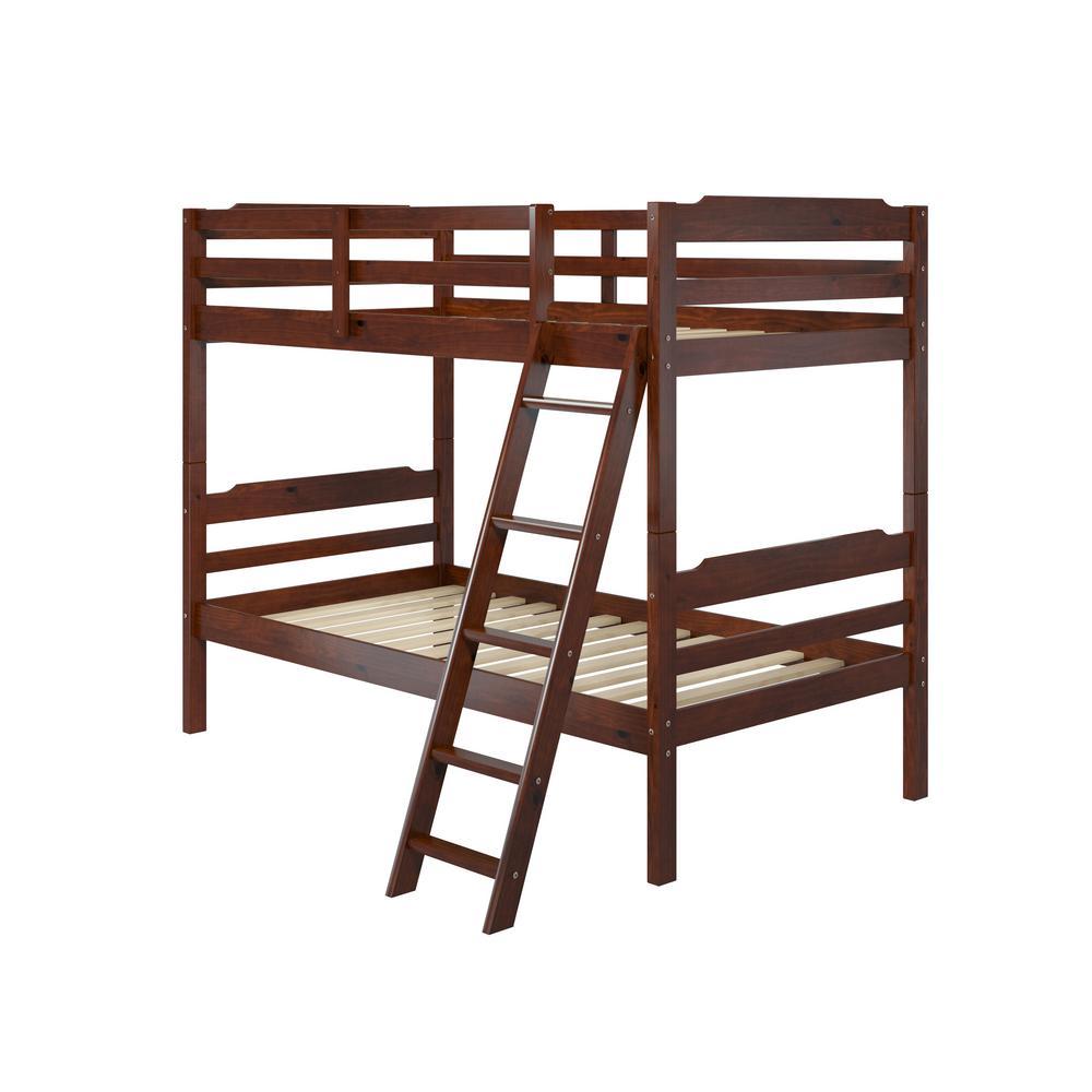 Hayden Twin Over Twin Wood Bunk Bed