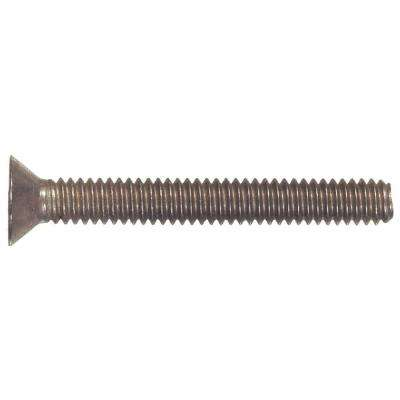 #6-32 x 1/2 in. Phillips Flat-Head Machine Screws (30-Pack)