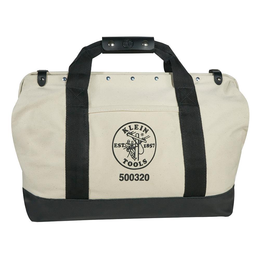 44a30a1bca74 Klein Tools 20 in. Canvas Tool Bag