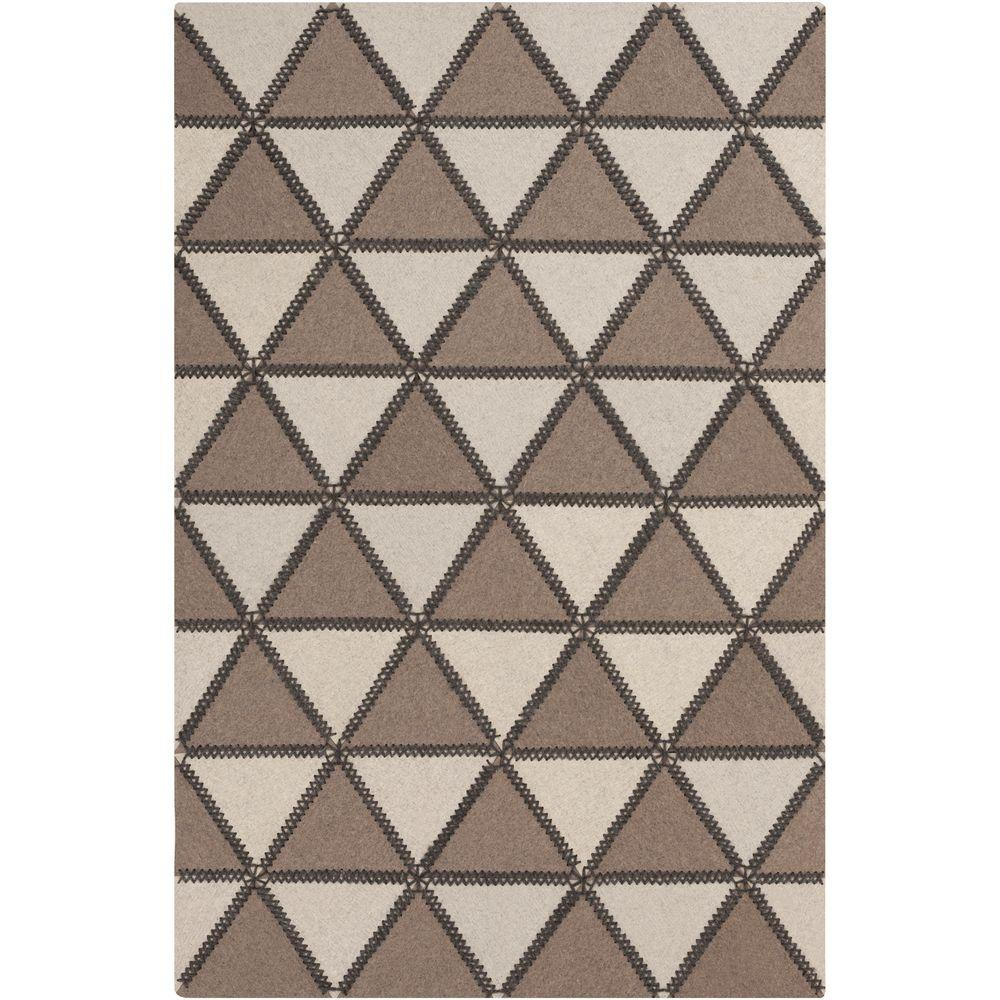 Didessa Taupe 2 ft. x 3 ft. Indoor Area Rug