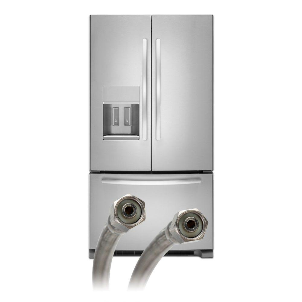 Fluidmaster 84 in. Braided Stainless Icemaker Connector