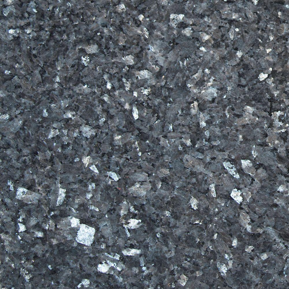 Ms international blue pearl 12 in x 12 in polished for Granite flooring