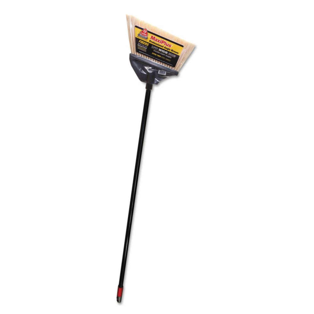 51 in. Maxi-Angler Black Handle Broom (4-Carton)