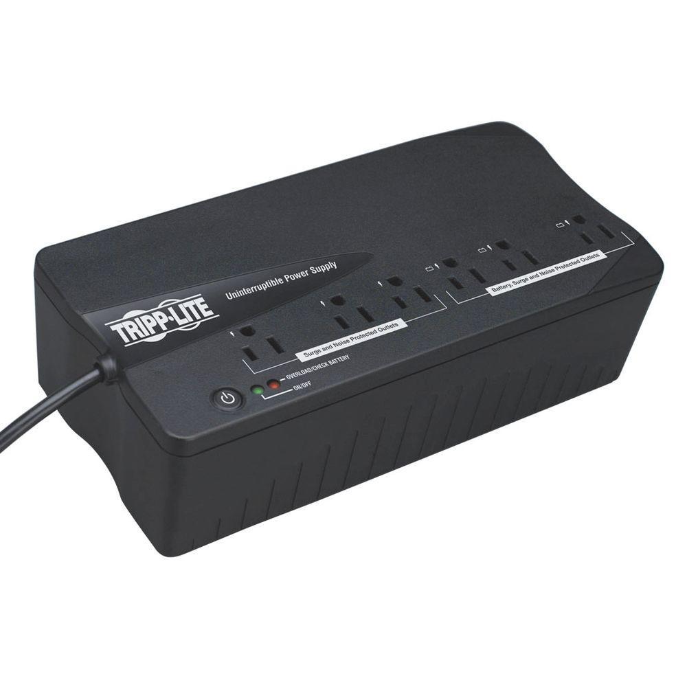 350VA 180-Watt UPS Desktop PC / MAC Battery Back Up Compact 120-Volt