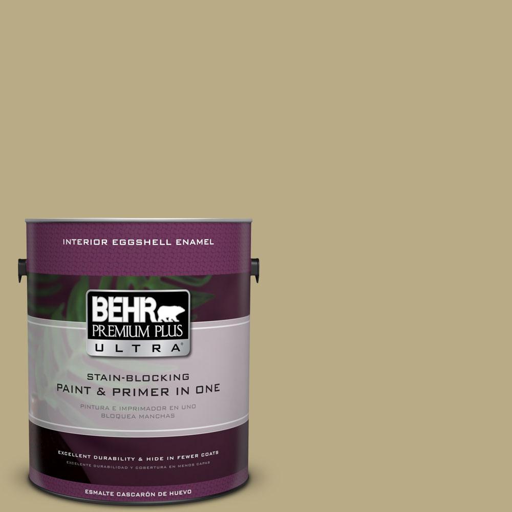 BEHR Premium Plus Ultra 1-gal. #PPU8-8 Kaffir Lime Eggshell Enamel Interior Paint