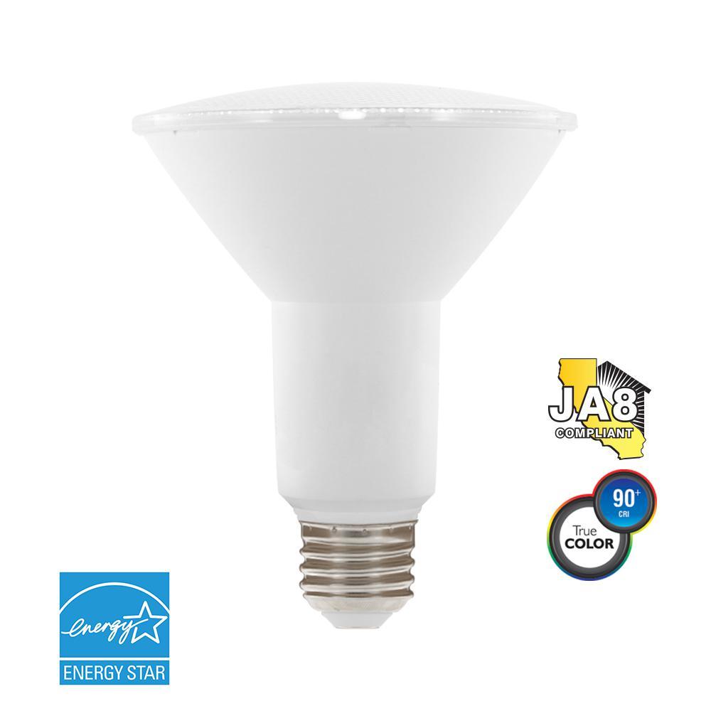 75W Equivalent Warm White PAR30 Dimmable LED Light Bulb