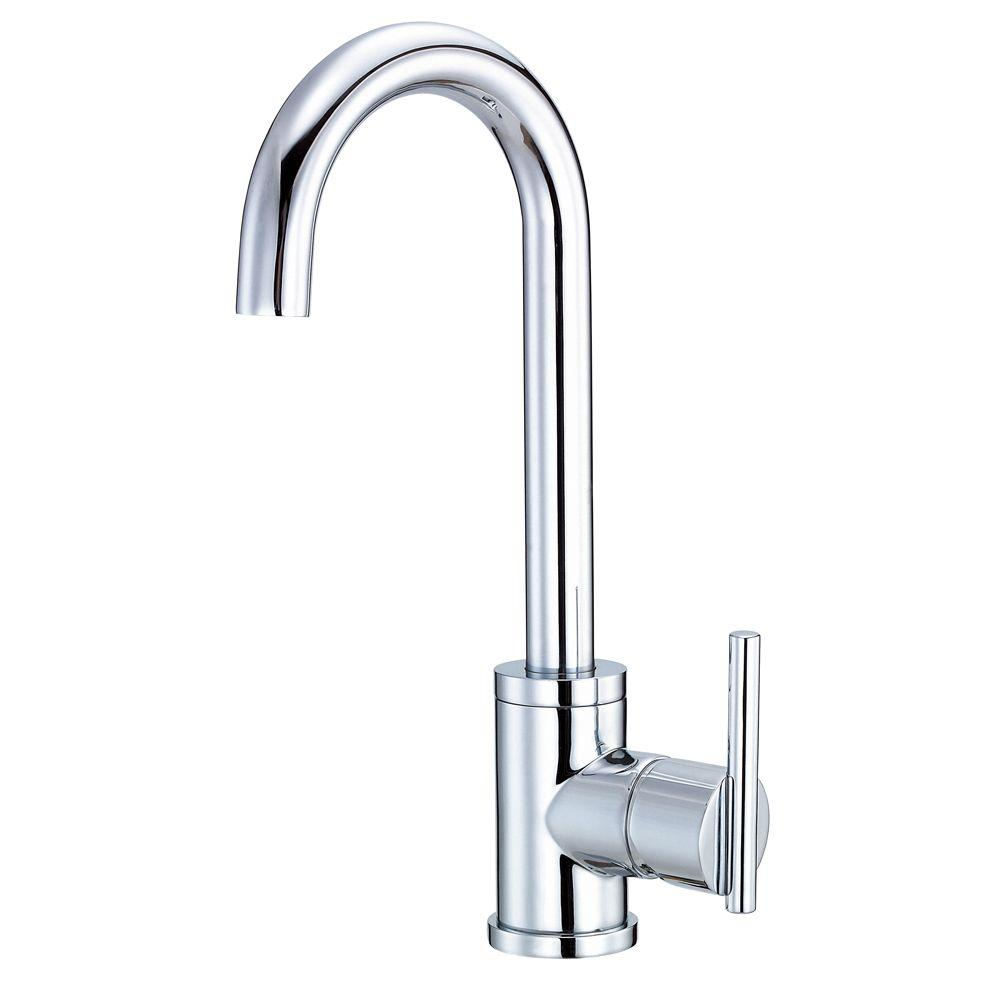 Danze Parma Single-Handle Bar Faucet in Chrome-D151558 - The Home ...