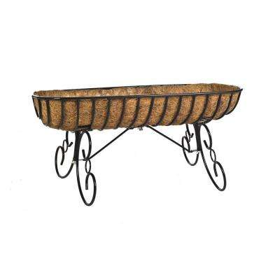 30 in. Horse Trough Floor Planter