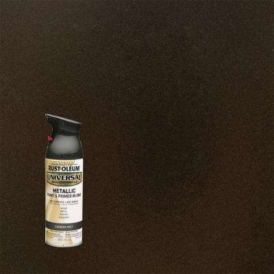 11 oz. All Surface Metallic Carbon Mist Spray Paint and Primer in One