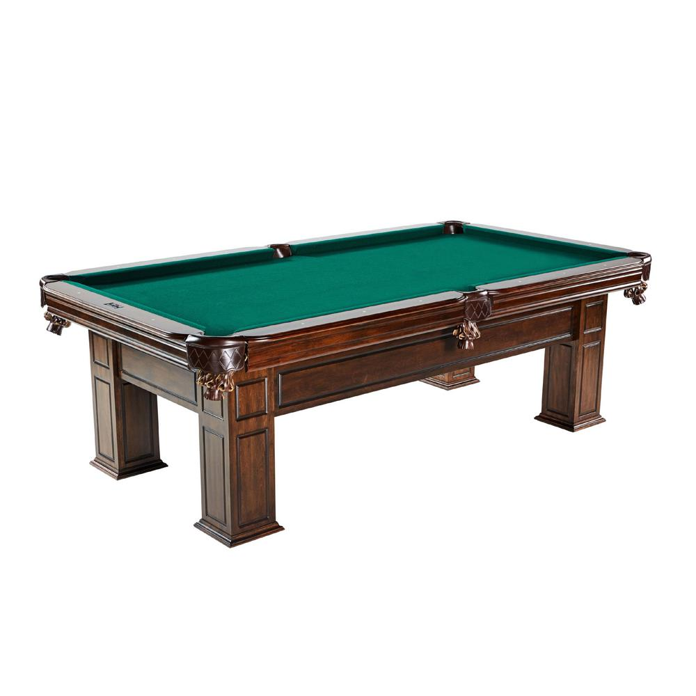 Woodhaven 100 in. Solid Wood Billiard Table