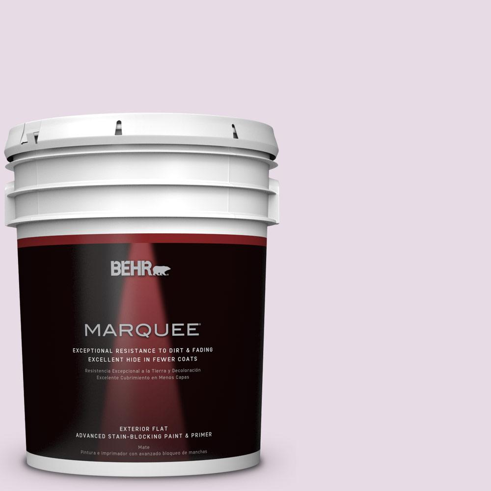 BEHR MARQUEE 5-gal. #M100-1 Aroma Flat Exterior Paint