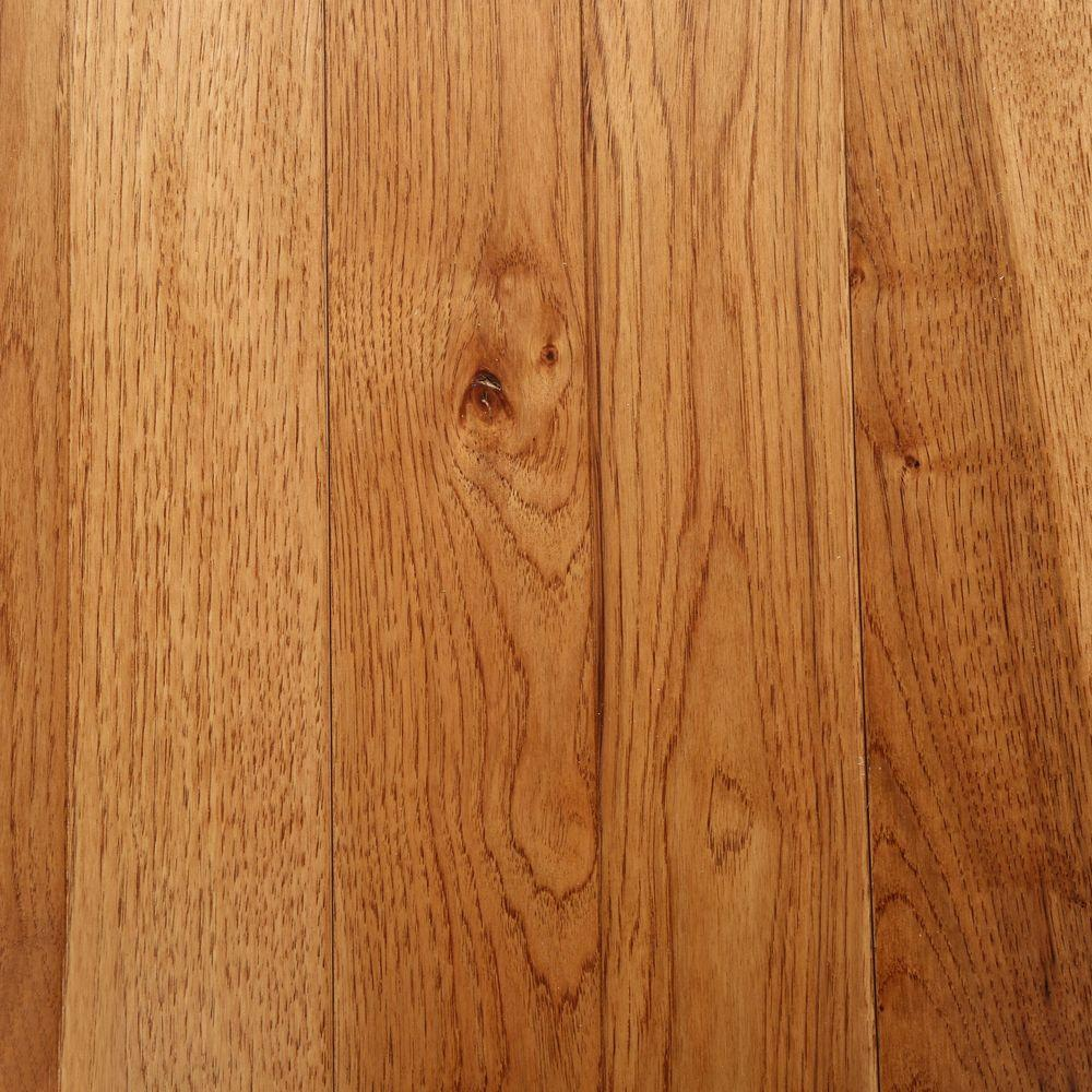 Bruce Hickory Autumn Wheat 3/4 in. Thick x 3-1/4 in. Wide x Varying Length Solid Hardwood Flooring (22 sq. ft. / case)