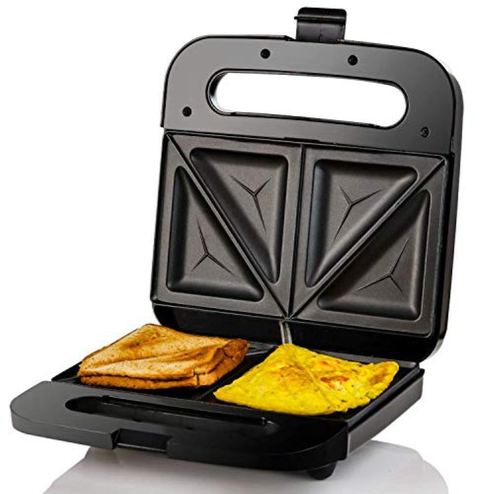 2-Slice Electric Sandwich Maker Non Stick Grill, Black (GPS401B)