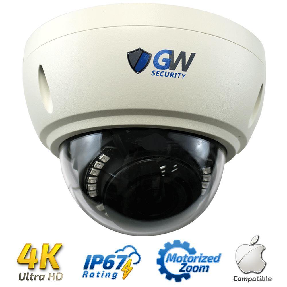 Laview Indoor Outdoor 1080p Dome Ceiling 2mp Ip Network Vandal Proof Camera W 15 Wired Ultrahd 4k 8mp Poe 3x Zoom