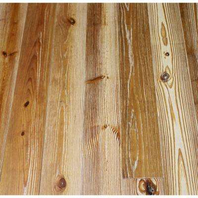 Antiqued Frosted Nectar Pine 3/4 in. Thick x 5-1/8 in. Wide x Random Length Solid Hardwood Flooring (23.3 sq. ft. /case)