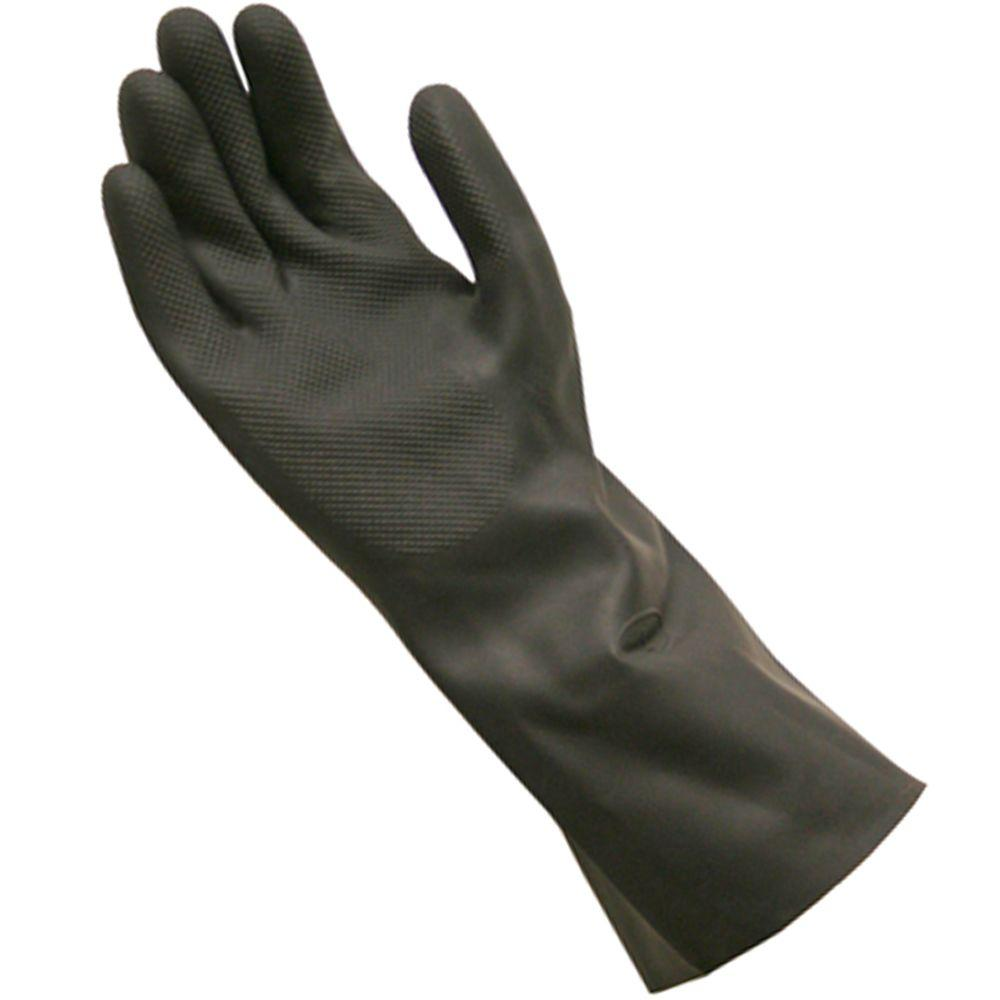 Grease Monkey Long Cuff Neoprene Cleaning Gloves, Large