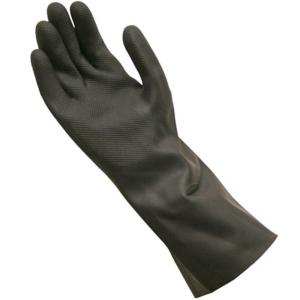 Long Cuff Neoprene Cleaning Gloves, Large