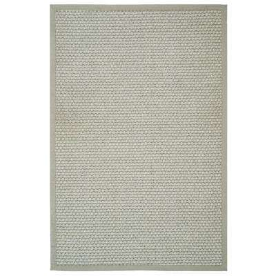Natural Fiber Silver/Gray 4 ft. x 6 ft. Area Rug