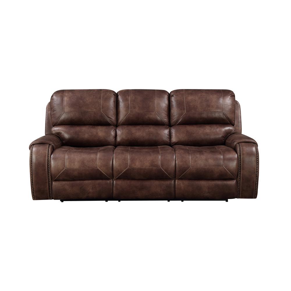 Brown Jennings Power Reclining Sofa