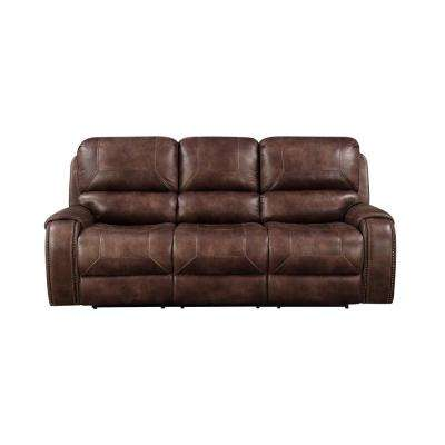Brown Jennings Power Reclining Sofa