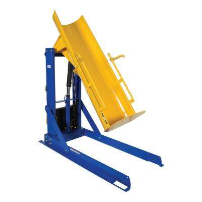 60 in. 750 lbs. Capacity Stationary Hydraulic Drum Dumpers