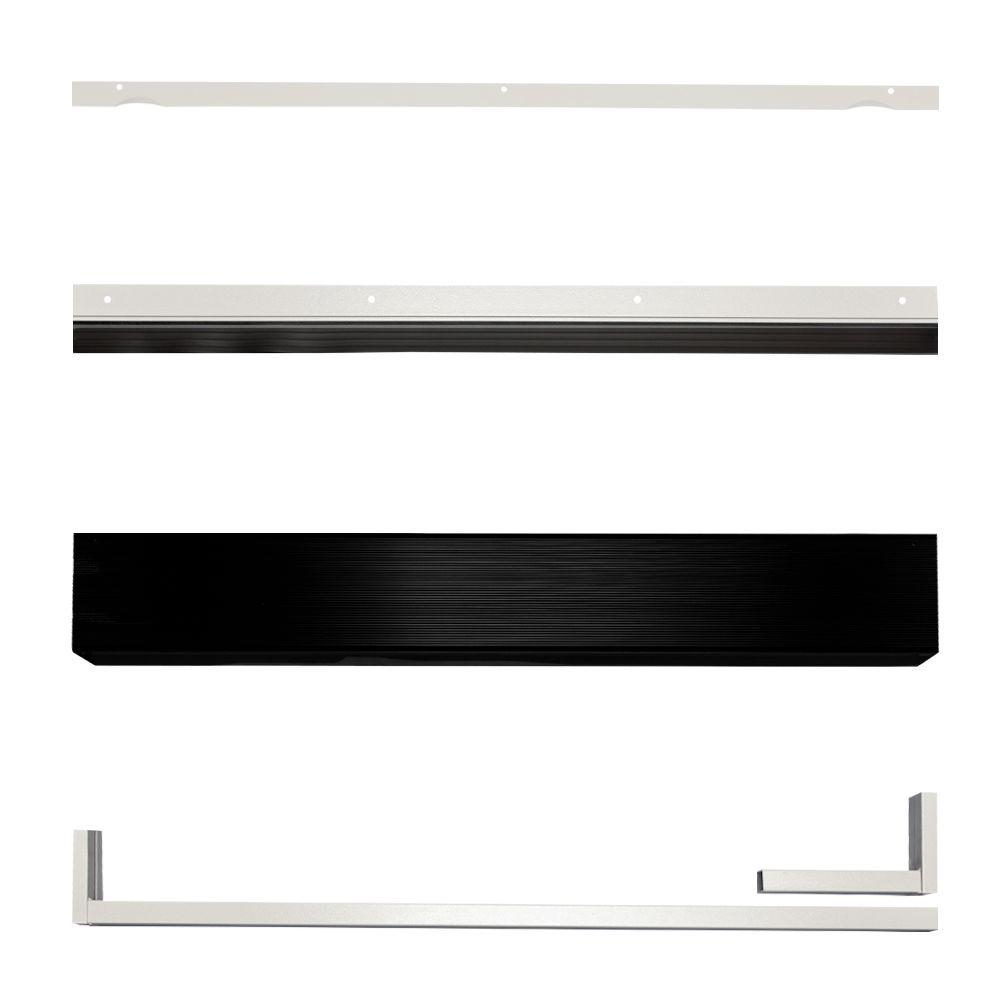 Unique Home Designs White Security Door Seal Kit