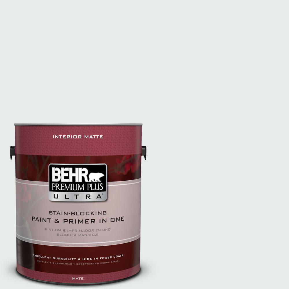 1 gal. #BL-W5 Dusting Powder Matte Interior Paint